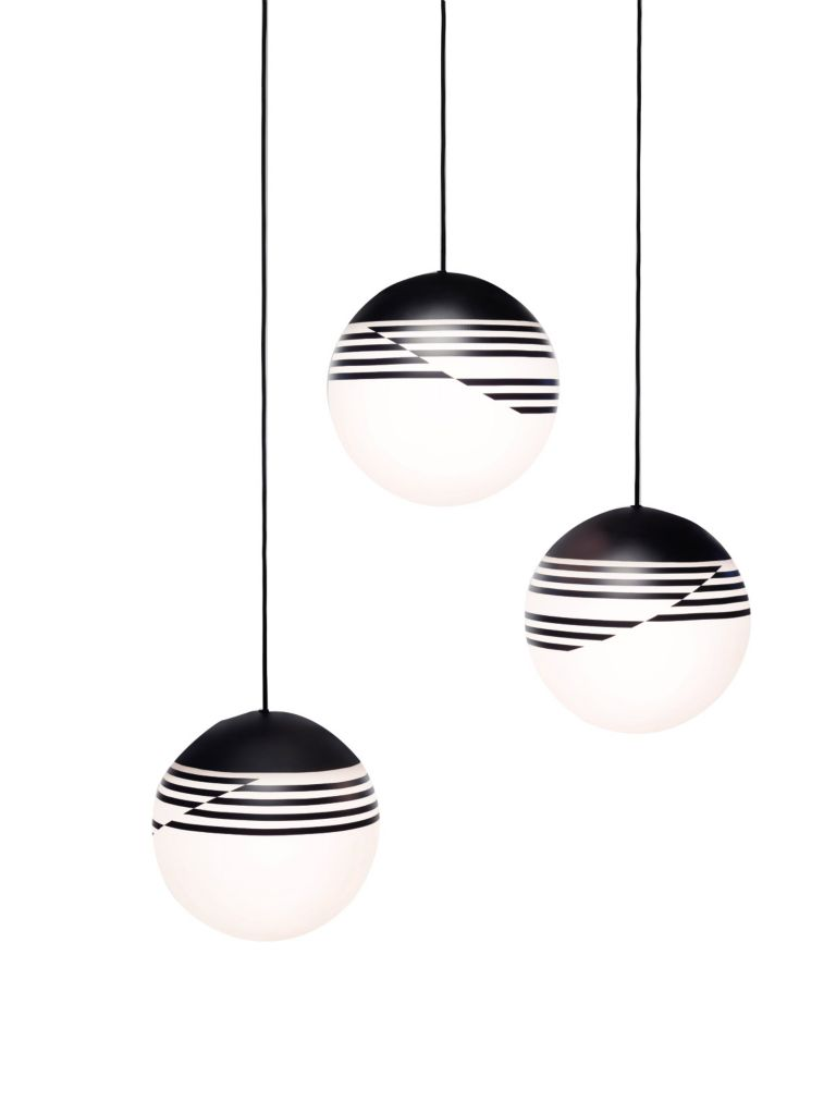 optical pendant lights by lee broom luxe interiors design