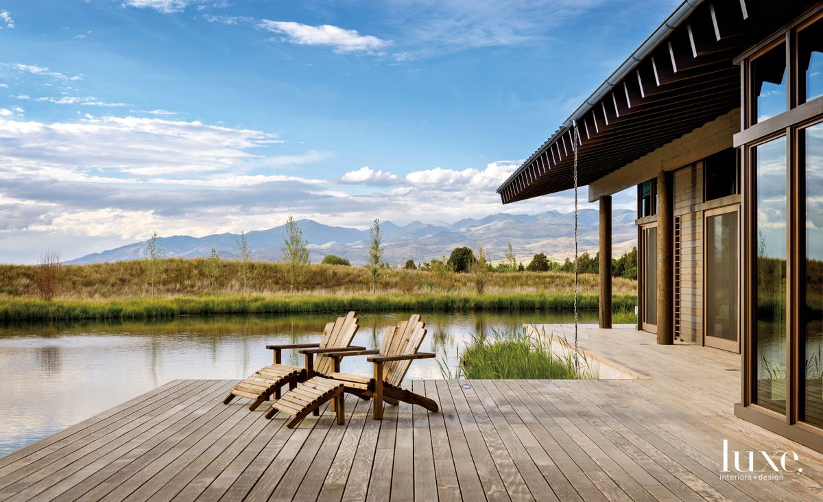 This Montana Home Uses Manmade Ponds to Cool the House