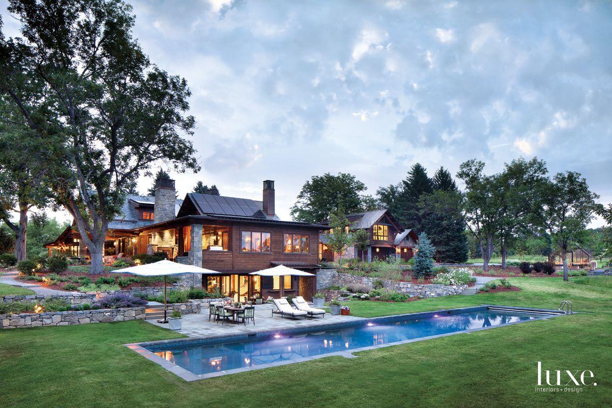Inspiring Landscape Design At A Mountain Modern Denver Home