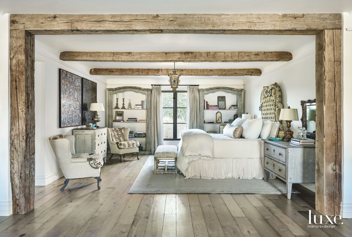 Fashionable Master Bedroom in Paradise Valley Home