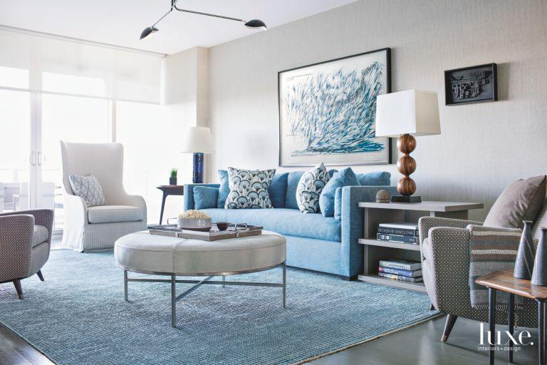 Coastal Cool in a Modern Miami Apartment - Luxe Interiors + Design