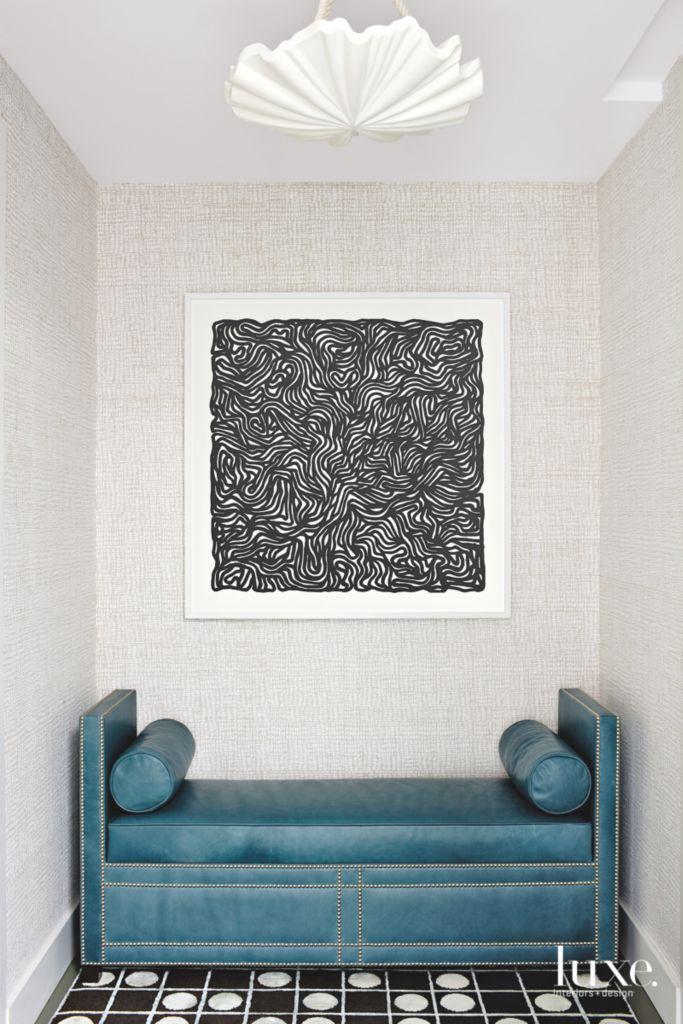 Custom Touches in Coastal Cool Modern Miami Apartment - Luxe ...