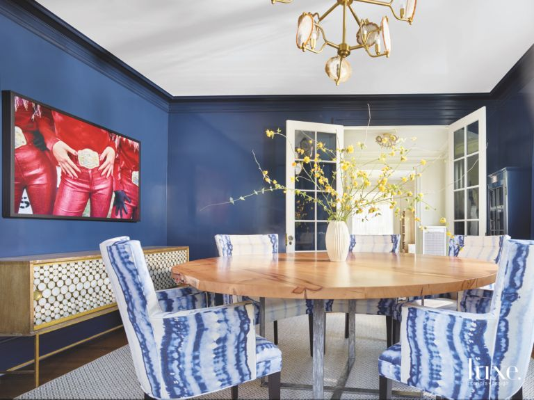 Humorous Touches In An Eclectic Seattle Dining Room