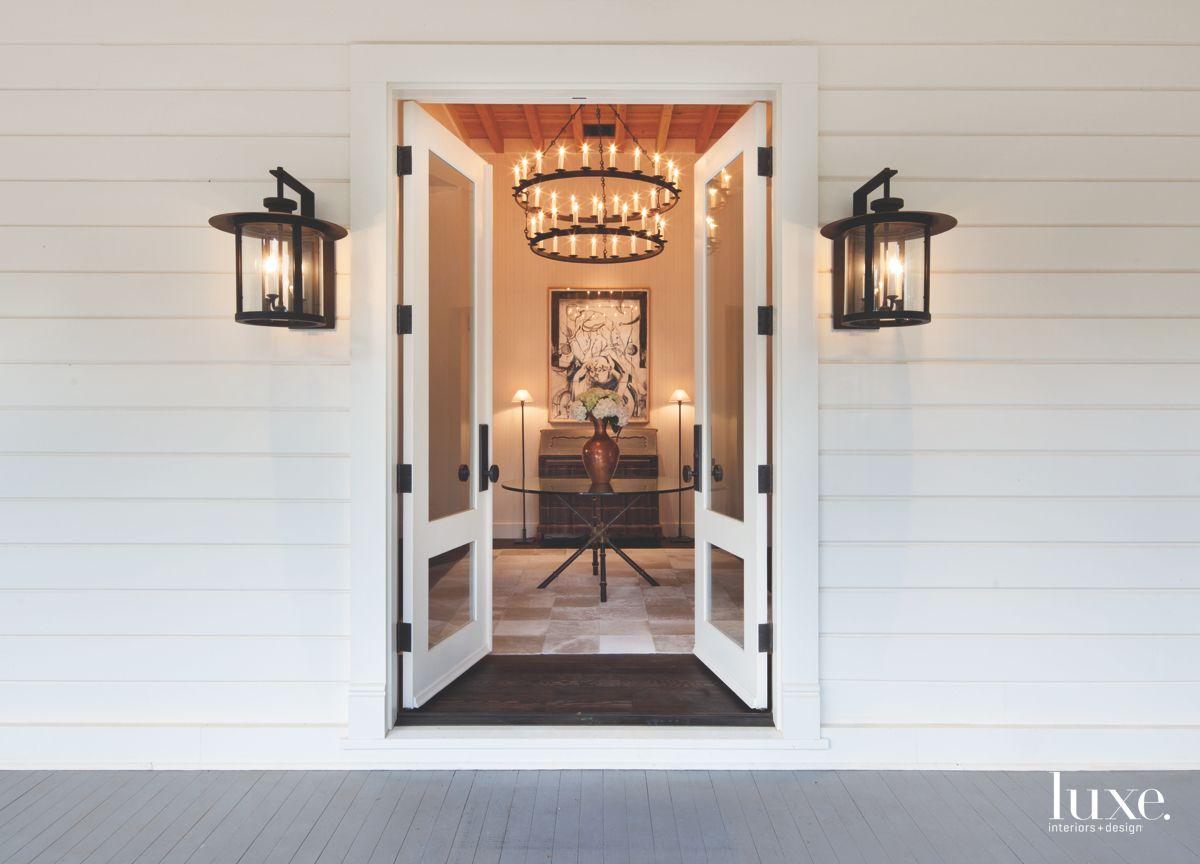 Dramatic Entrance to Historic Calistoga Home