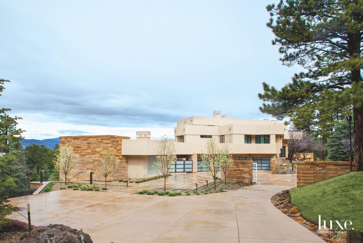 Modernist Adobe Home in Denver