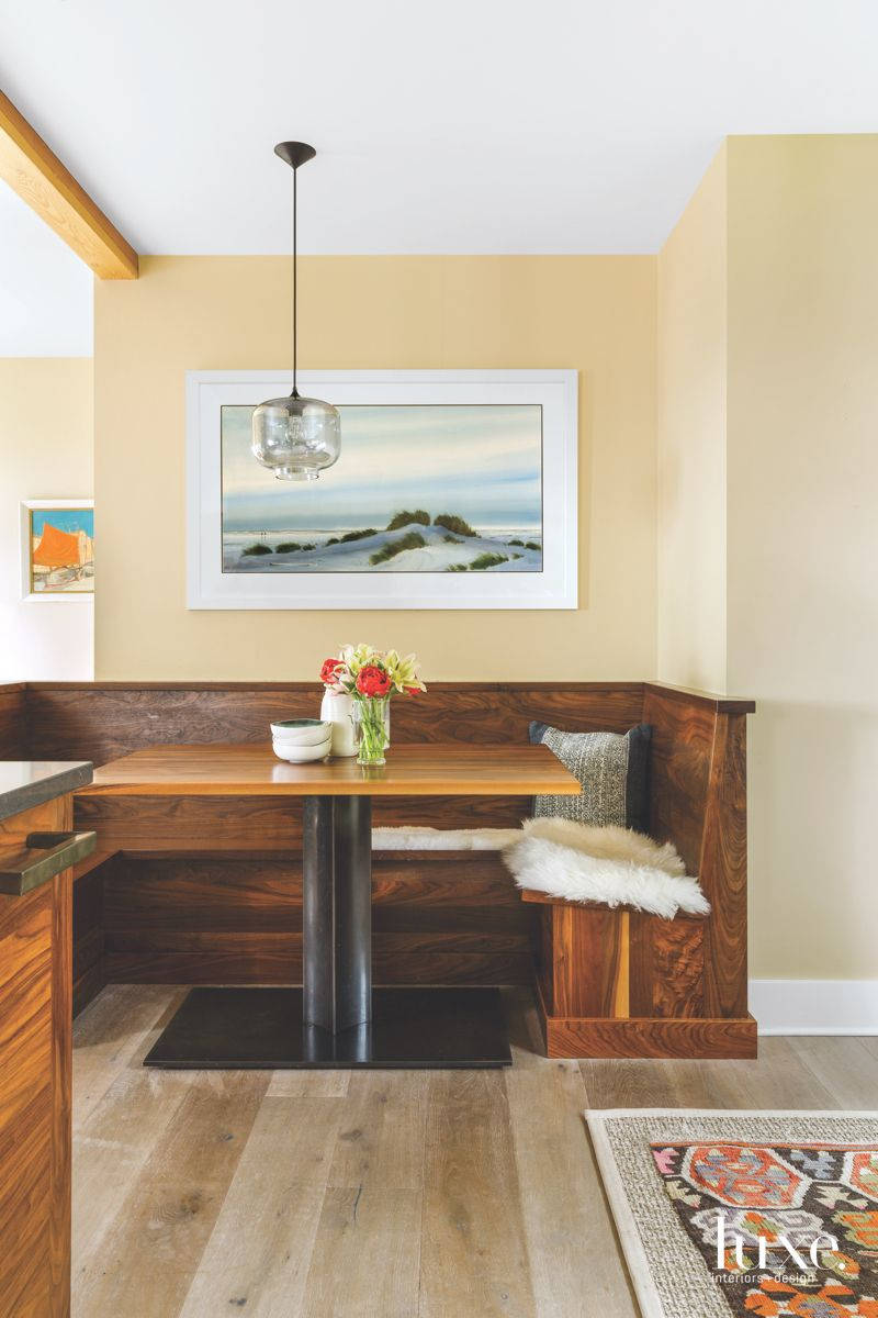 Eclectic, Global Touches in Contemporary Seattle Kitchen