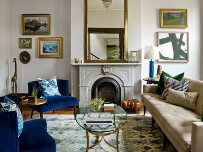 Modern \u0026 Traditional Mix In Lively Chicago Living Room & Modern \u0026 Traditional Mix In Lively Chicago Living Room - Luxe ...