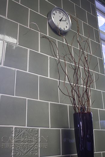 Full height kitchen wall tile in handmade ceramic staggered ... on 12x12 kitchen tile backsplash, 6x6 pool tile, 6x6 ceramic tile, 6x6 kitchen tile flooring, 6x6 bathroom tiles, 6x6 kitchen island, tropical kitchen tile backsplash,