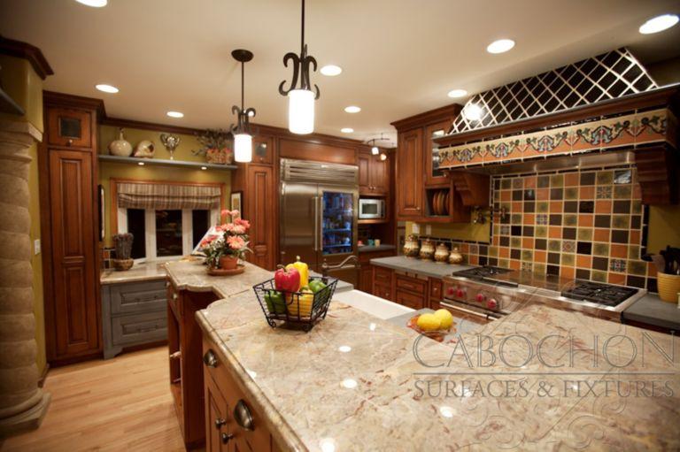 Beautiful Spanish Tile Kitchen Backsplash Ideas Bathroom Bedroom