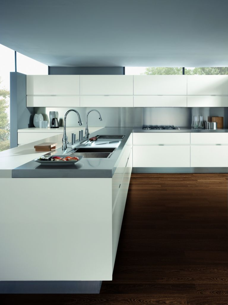 Elektra kitchen, designed by Pietro Arosio for Ernestomeda. Color ...