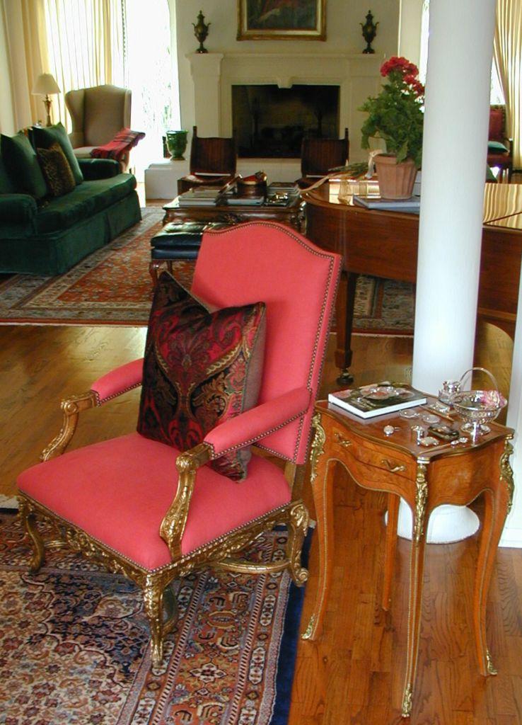 Sitting Area by Andrea Wachs Interior Design