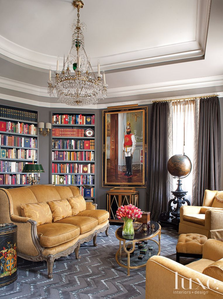 Classical European Home Library | LuxeSource | Luxe Magazine - The ...
