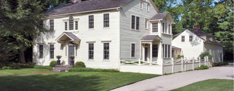 A Georgian Center Hall Connecticut Colonial