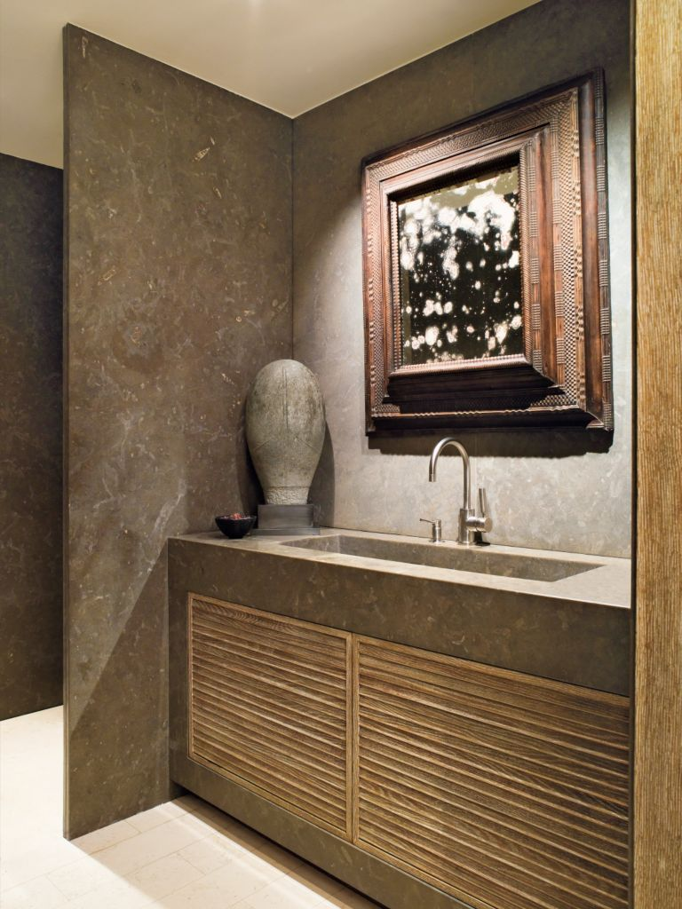 Small Powder Room Luxe Interiors Design