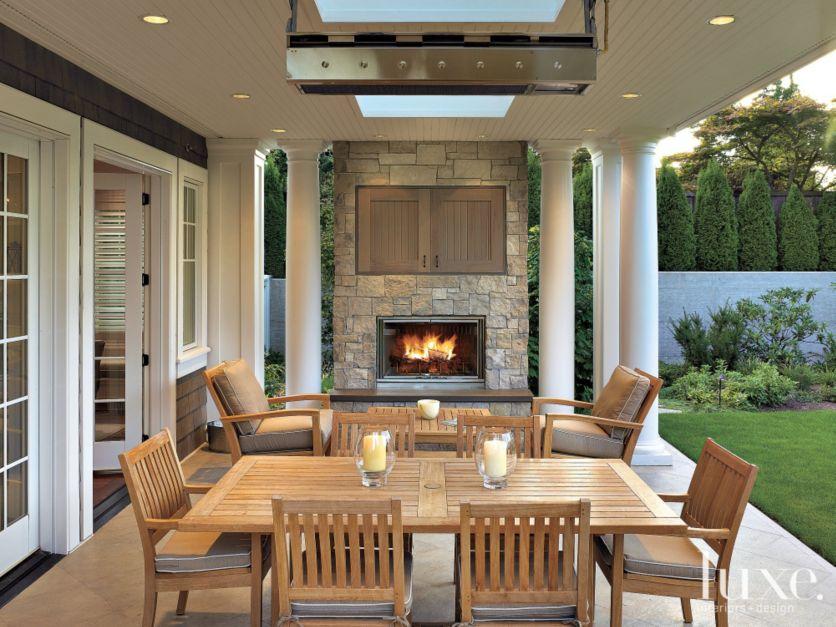 Neutral Traditional Loggia Luxe Interiors Design