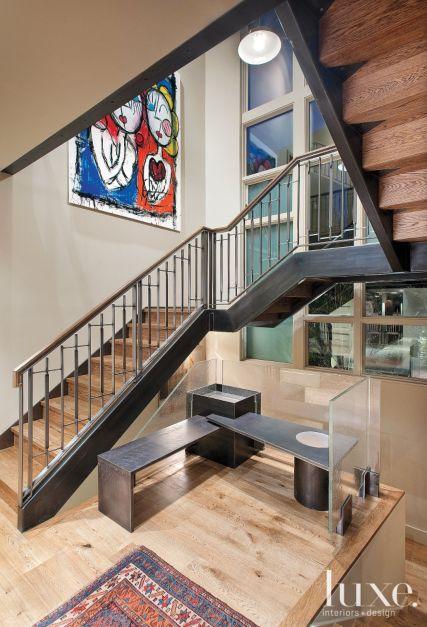 Modern Custom Steel Staircase