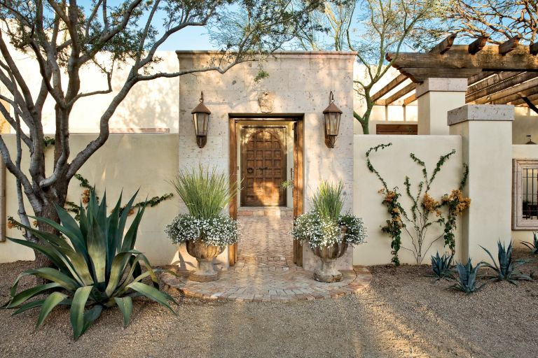 Traditional Mexican Front Entryway