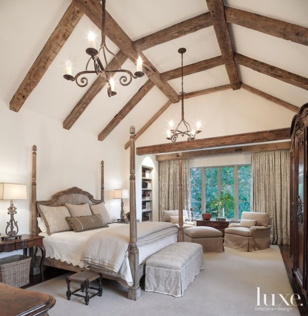 Traditional Louisiana Master Bedroom Luxe Interiors Design