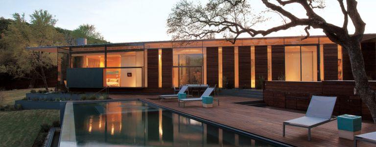 Sustainably Designed Modern Austin Abode