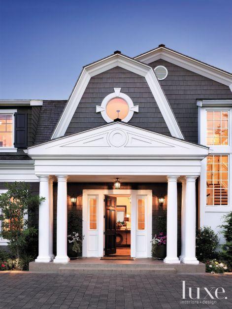Dutch Colonial Front Door Luxe Interiors Design