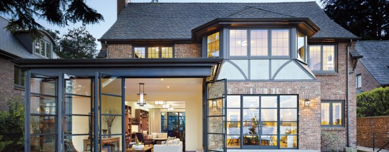 Classic, Contemporary Seattle Tudor Home