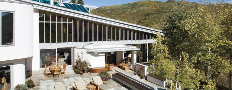 a mountain style steamboat springs retreat with eco friendly