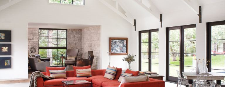 Modern Barn Style Boulder Ranch Location Colorado Tour This House