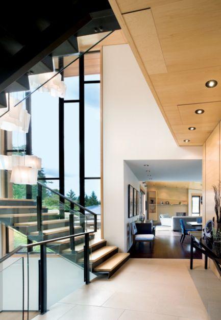 Contemporary Neutral Staircase