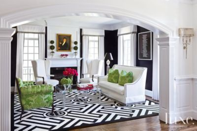 A Transitional Mclean Home with Eclectic Interiors Features