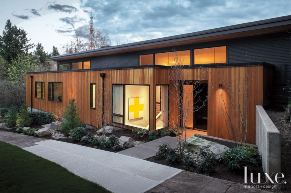 A Contemporary 1950s Portland Home Luxesource Luxe