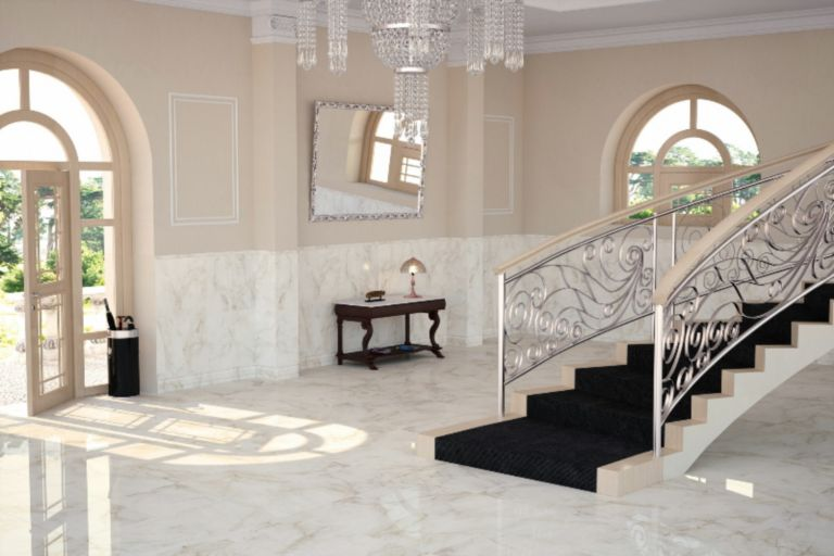 JD Marble Home Design Center Staircase, Lobby, Foyer | LuxeSource ...