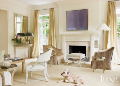 A Neutral Washington DC Home With Neoclassical Furnishings