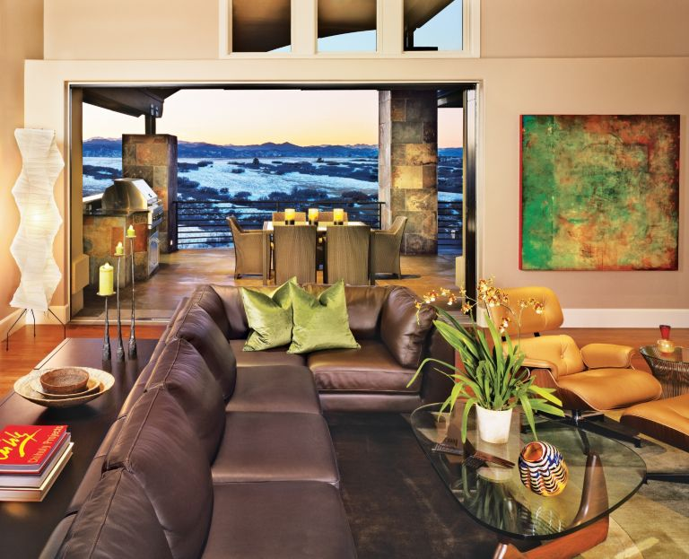 Indoor/Outdoor Great Room - Luxe Interiors + Design