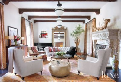 Eclectic Mediterranean Style Beverly Hills Home