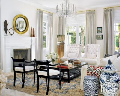 Classy Living Room Luxe Interiors Design