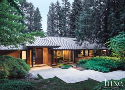A Contemporary Medina Home. Location: Pacific Northwest