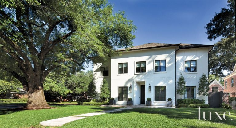 A French Revival Houston Home with Modern Interiors | LuxeSource ...