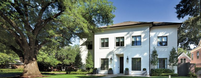 A French Revival Houston Home with Modern Interiors   Features ... on second empire house design, art deco house design, american foursquare house design, italian villa house design, prairie house design,