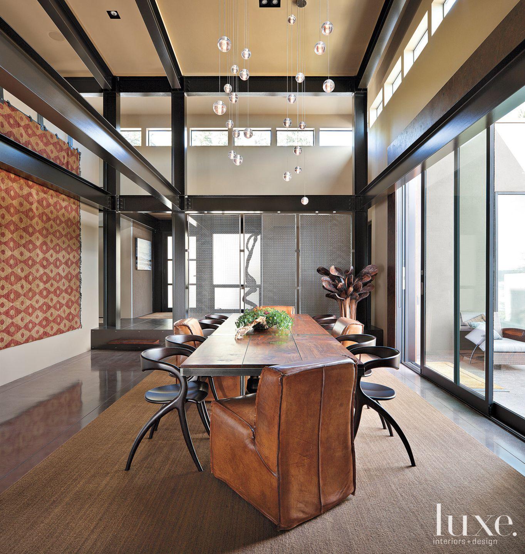 Modern Neutral Dining Room