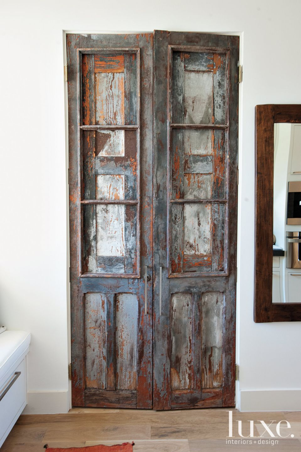 Antique Distresesed Doors