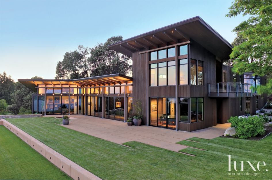 Northwest modern home architecture for Northwest contemporary homes