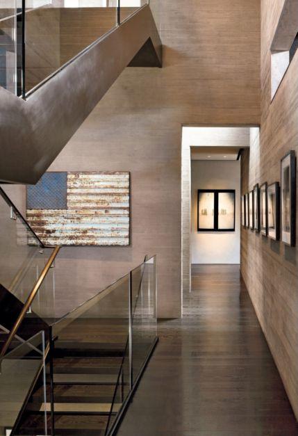 Contemporary Gray Staircase