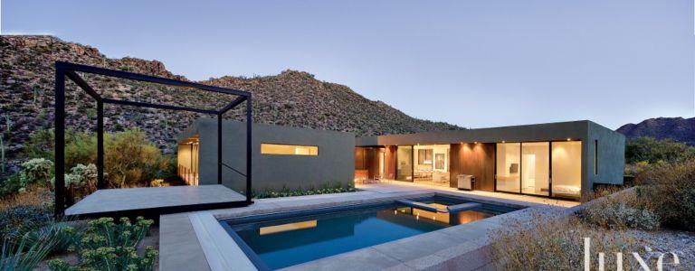 A Sleek, Low-Slung Marana Desert Home | Features - Design Insight ...
