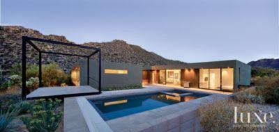 A Sleek Low Slung Marana Desert HomeA Sleek Low Slung Marana Desert Home  Features Design Insight