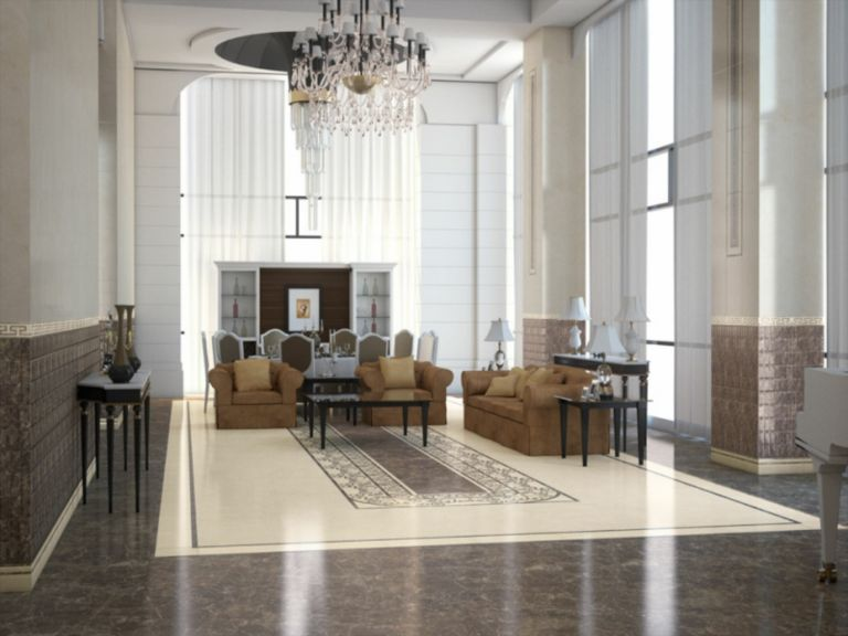 JD Marble Home Design Center Foyer, Lobby | LuxeSource | Luxe ...