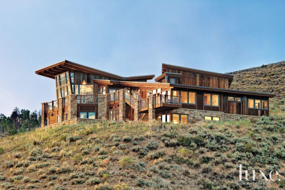 Modern Butterfly Roof Exterior - Luxe Interiors + Design