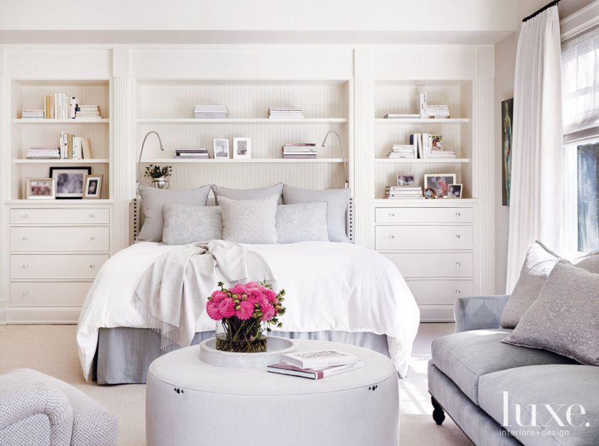White Transitional Master Bedroom Luxesource Luxe Magazine The Luxury Home Redefined