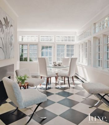 A Transitional Greenwich Home With Period Style Furnishings