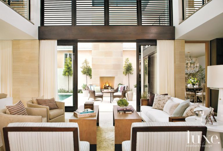 Shingled Two Story Residence With Indoor Outdoor Connection Luource Luxe Magazine The Luxury Home Redefined