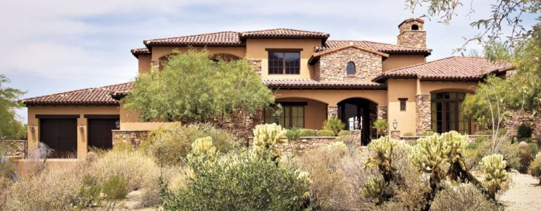 A Ranch Hacienda-Style Vacation Home in Scottsdale | Features ...